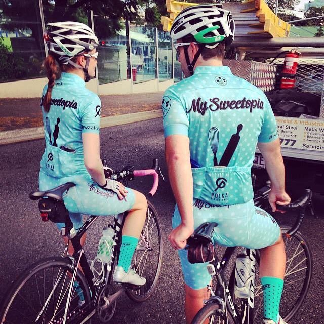 MySweetopia Cycling Kit.
