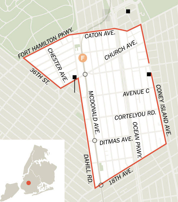 map of kensington brooklyn Affordability In Kensington Brooklyn Kensington Brooklyn map of kensington brooklyn