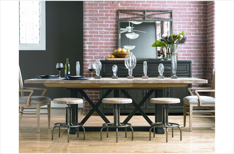Pennsylvania House Dining Table Extends To 116 Casual Dining