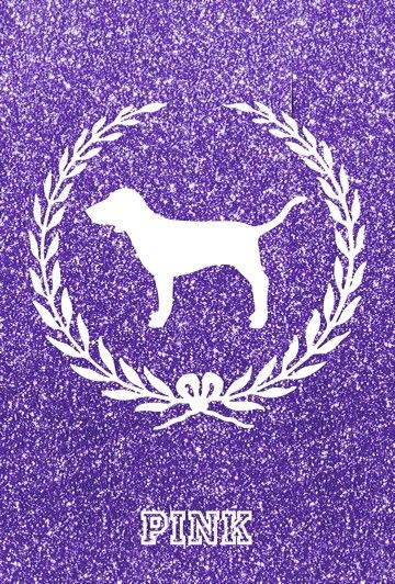 Purple logo iPhone Wallpaper Pink nation wallpaper