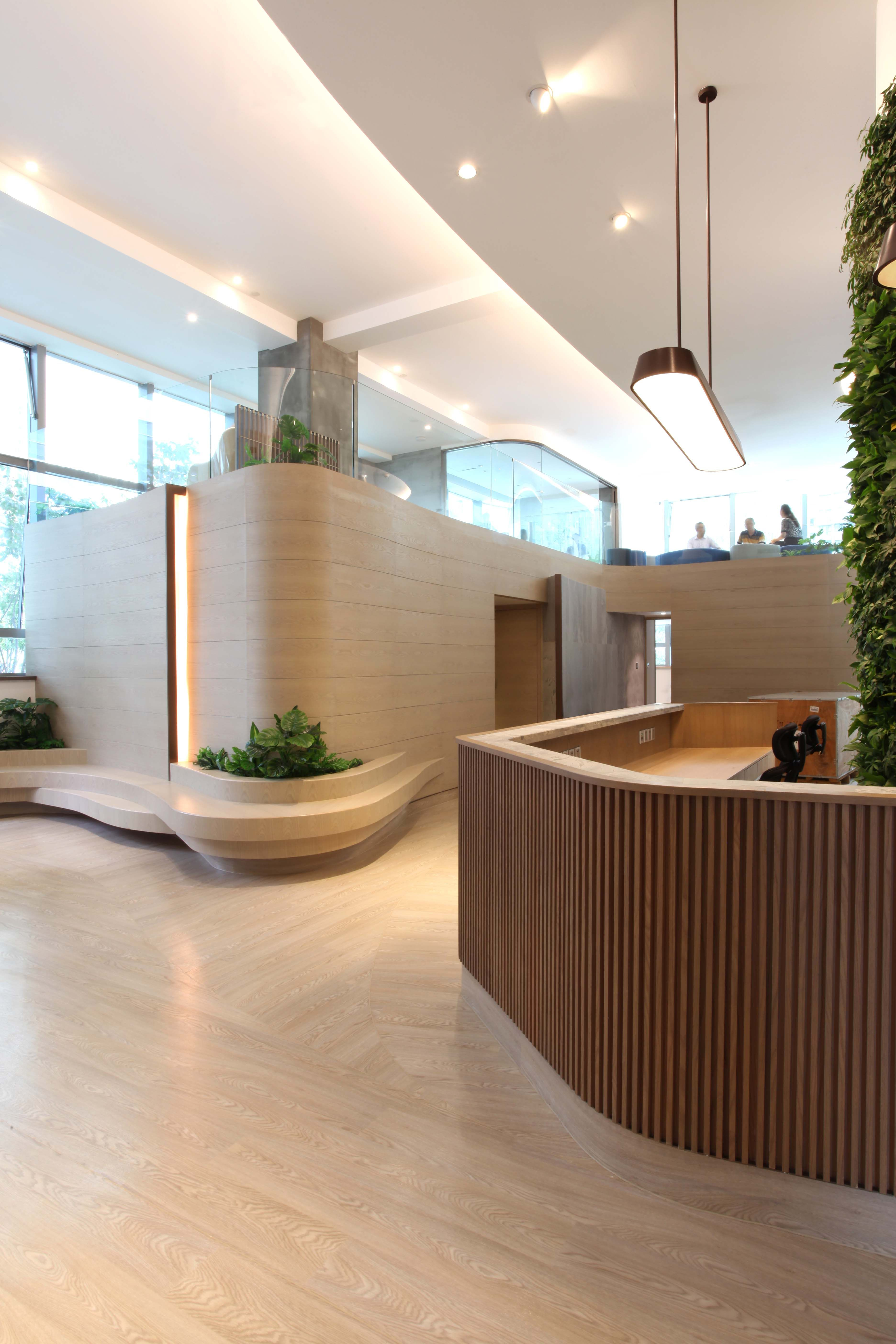 Studio Adjective Interior Design Comfort Interior Design Gynecology Pediatric Greene Waiting Room Design Hospital Interior Design Lobby Interior Design