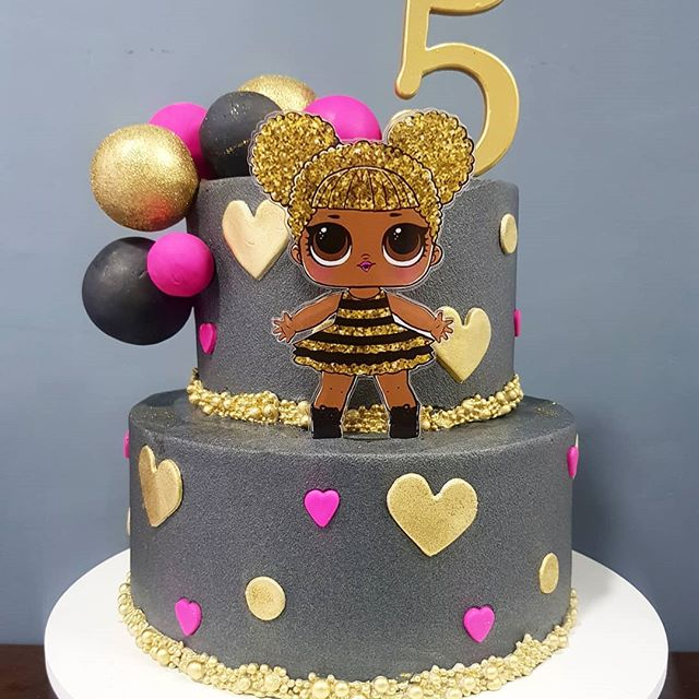 Lol Surprise Queen Bee Party Decorations Google Search Bee Birthday Cake Funny Birthday Cakes Lol Doll Cake