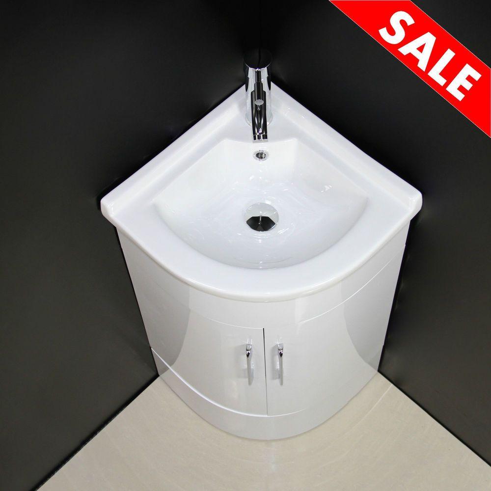 Cabinet Bathroom Corner Basin Sink