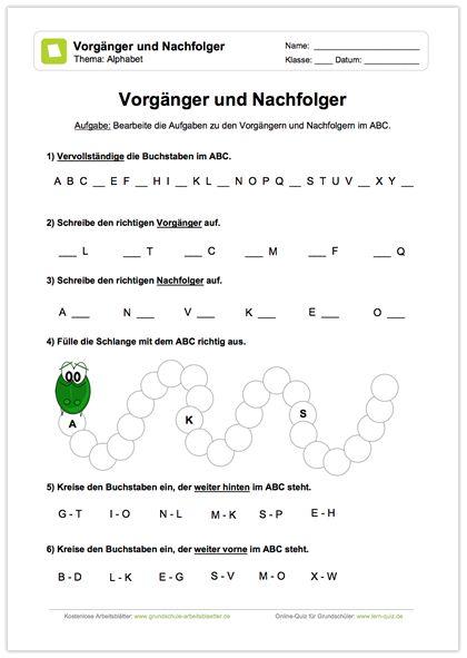 Neu Deutsch Abc 6 Kleine übungen Zur Bearbeitung Von