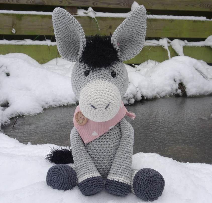 Ezel Elliott Haakpatroon Van Danis Creaties Crochet Toys Etc