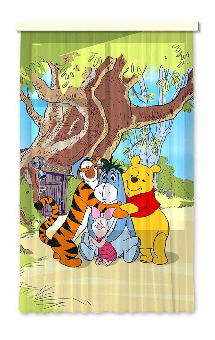 Tenda per cameretta Disney di Winnie The Pooh 01   Tende