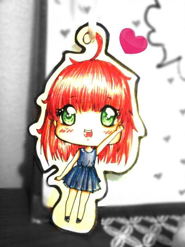 #Selfportrait #chibi #manga #redhead #rikuchan #kawaii #moe