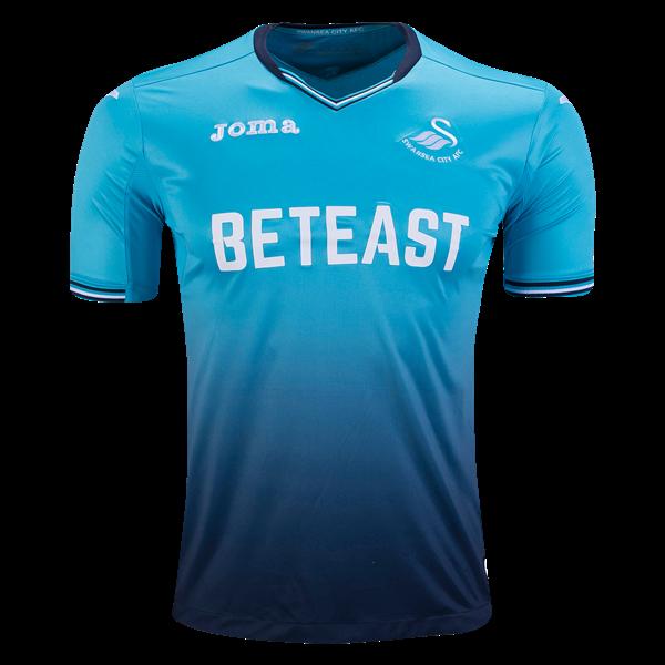 swansea city 16 17 away soccer jersey premier league 2016 17 jerseys at