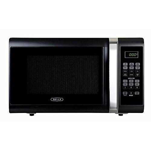 Bella 11 Cu Ft1000watt Countertop Microwave Oven In Black With