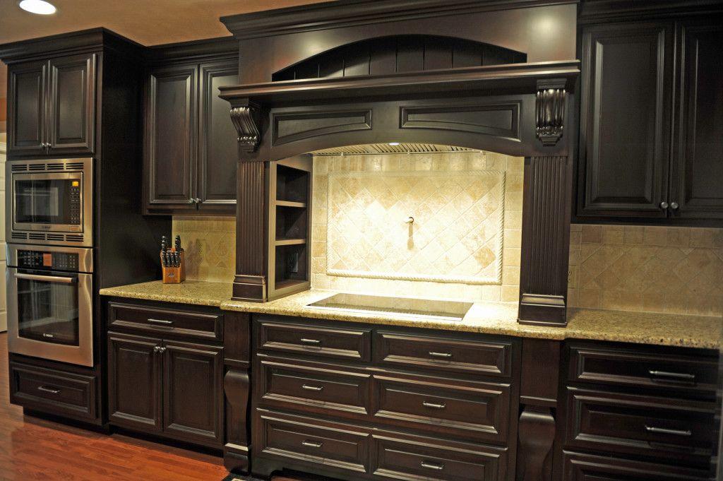 "Raised Panel Maple with ""Coffee Bean"" Stain | Thomas Built Custom ..."