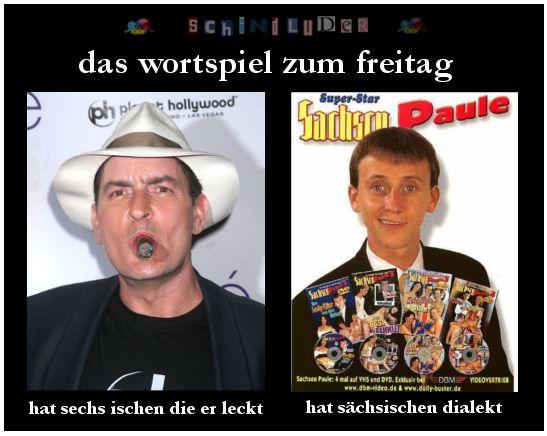 sechs ischen die er leckt vs. sächsischen dialekt #
