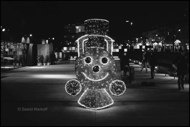 Warszawa nocą by Dawid Markoff