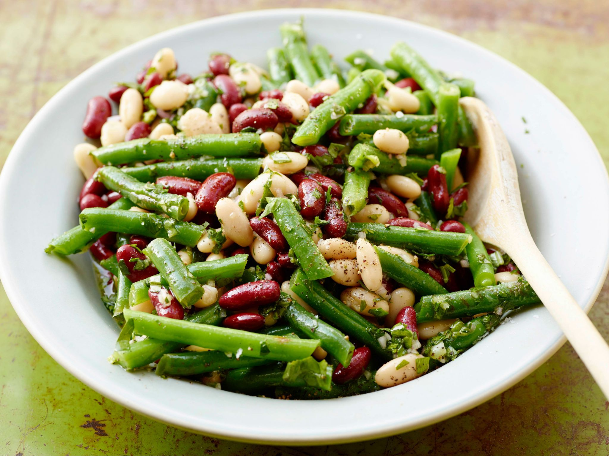 Three Bean Salad Recipe Summer Side Dishes Recipes