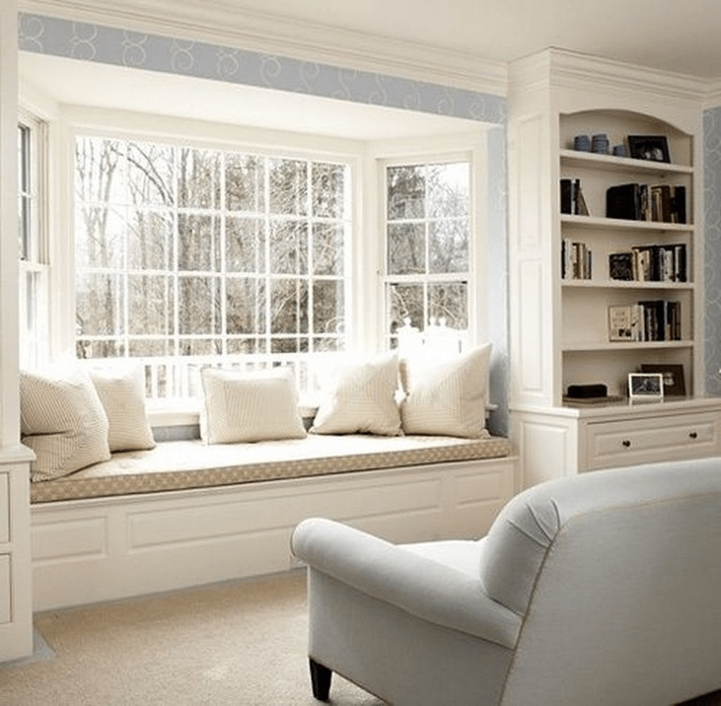 Bay Window Seat For A Lovely Addition: 35 Beautiful Bay Window Seating Ideas You Should Copy