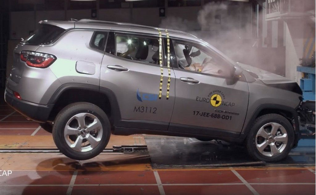 Jeep Compass Euro Ncap Score Is 5 Stars Suv Brands Jeep Compass