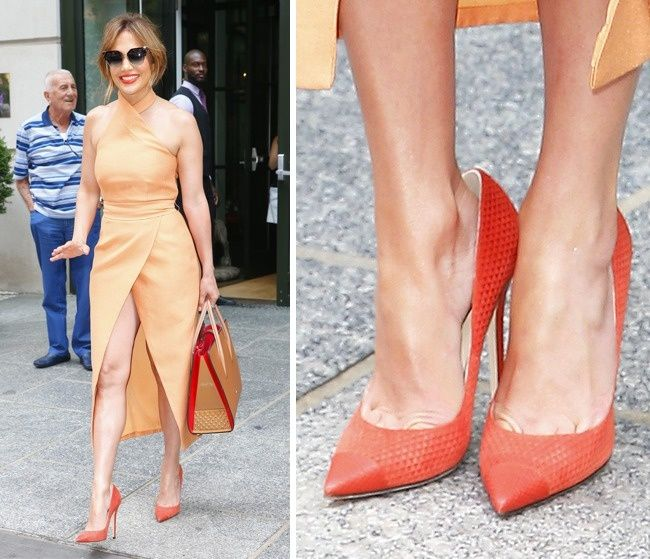 This Is Why Celebrities Wear Shoes That Are Too Big for Them