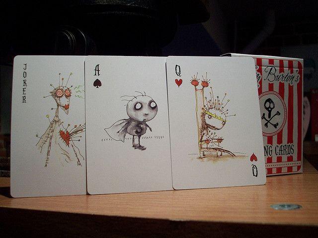 Playing Cards - Tim Burton Set