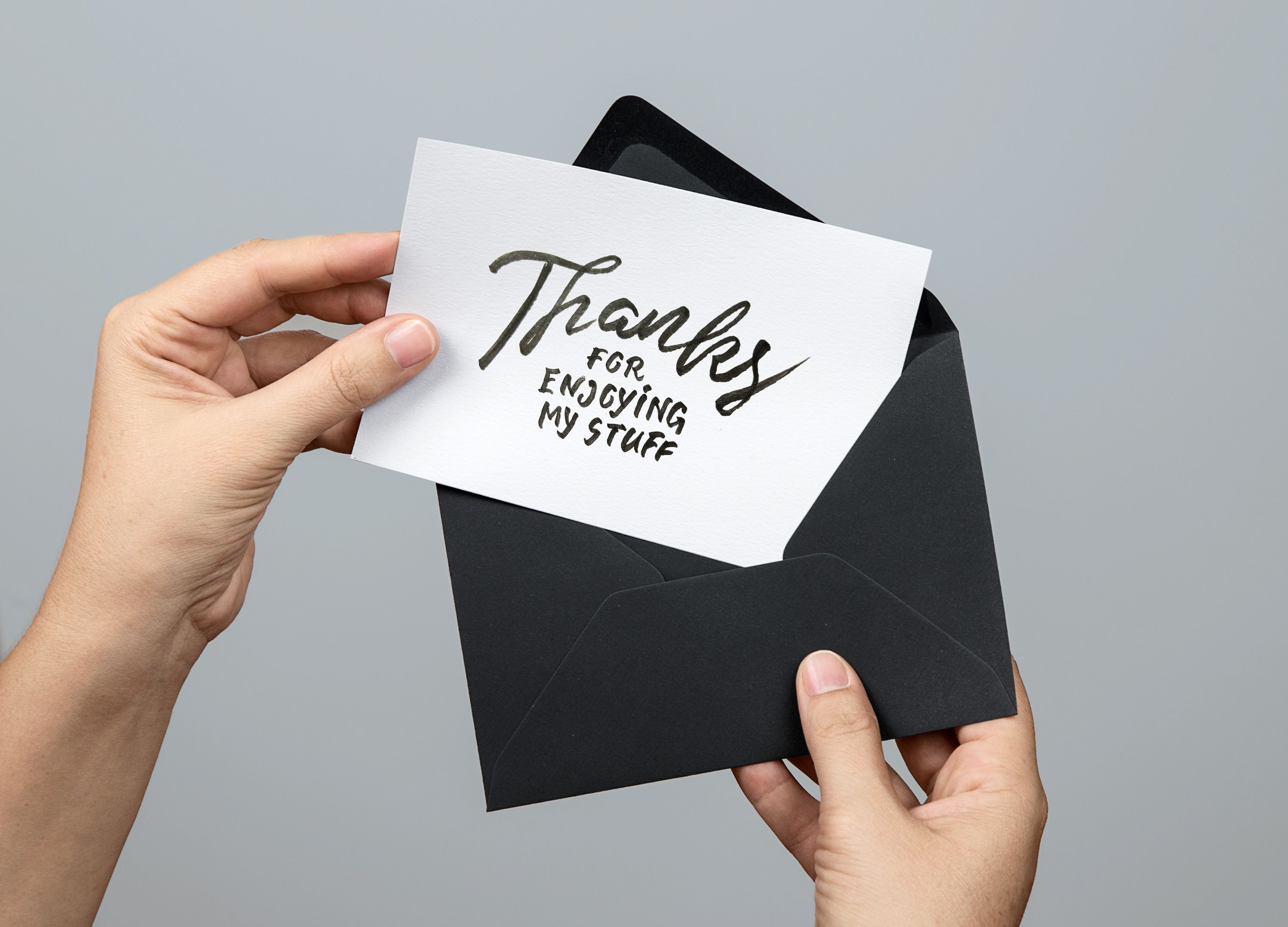Free Greeting Card Mockup Fribly Cards Free Greeting Cards Thank You Card Template