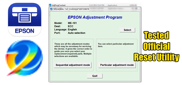 Epson Me101 Adjustment Program Reset Utility Free Download Devise