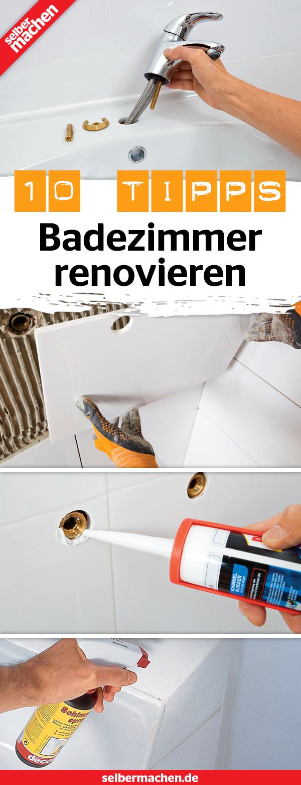 Badezimmer Renovieren So Werden Fliesen Fugen Und Co Wie Neu Badezimmer Renovieren Renovieren Dusche Renovieren