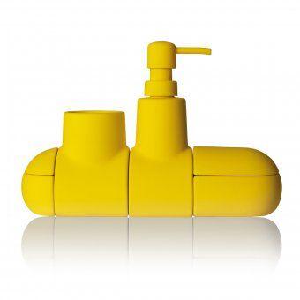 Bath-Utensilo Submarino yellow