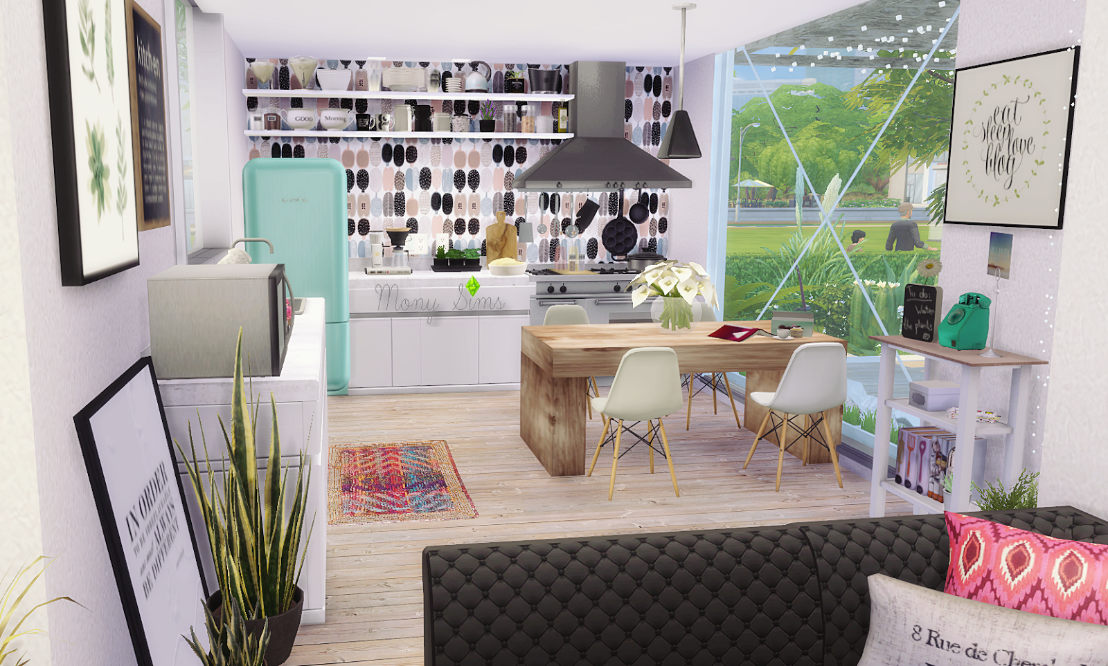 Minimalist Container House Sims 4 Houses Sims 4 Pinterest