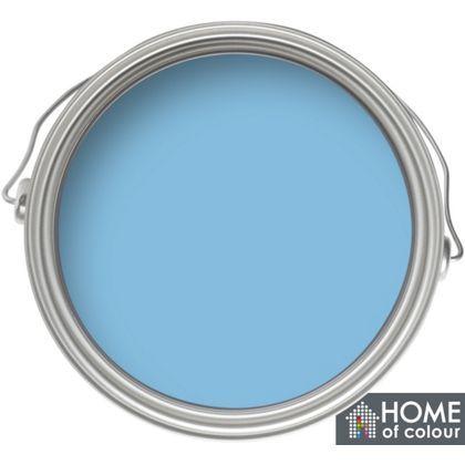 Home Of Colour Marina Blue Matt Emulsion Paint 2 5l
