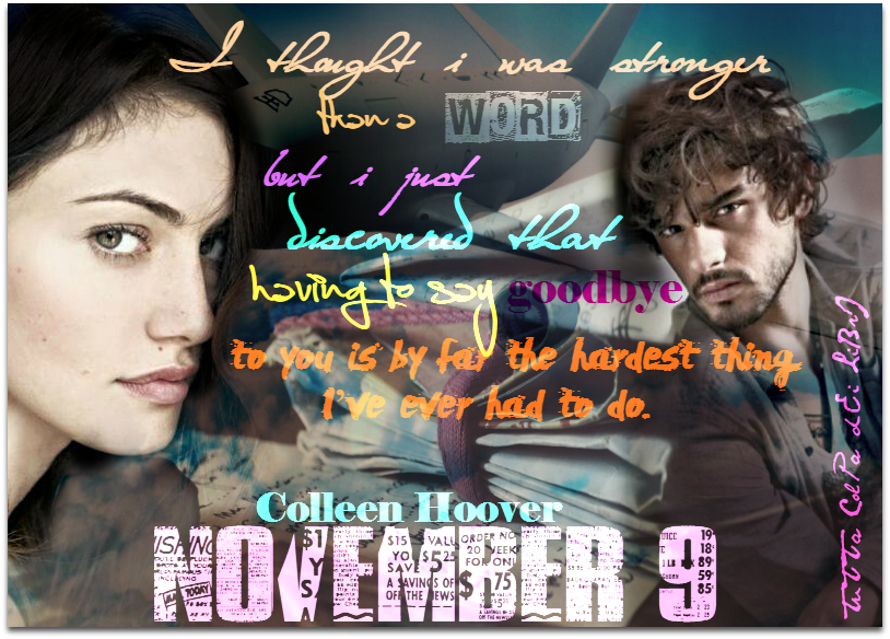 Ben and Fallon from November 9 by Colleen Hoover