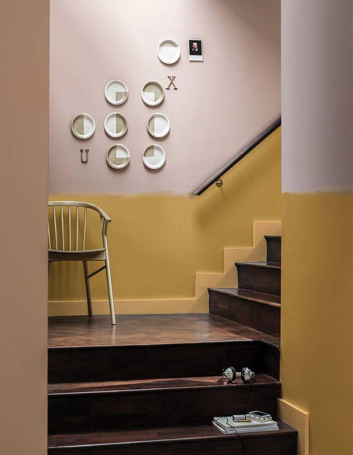 Peinture Murale : 20 Inspirations Pour Un Intérieur Trendy   Elle  Décoration. EscaliersCage ...