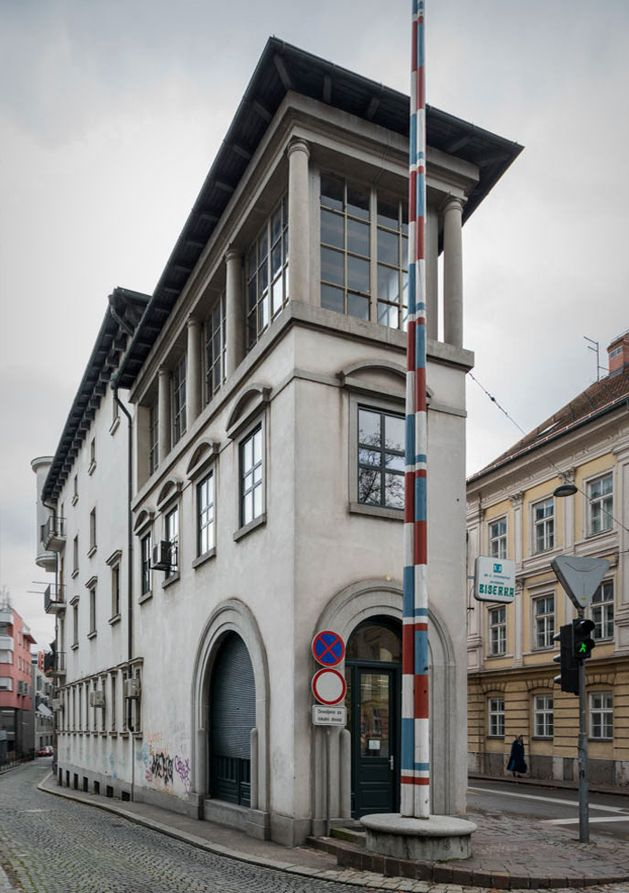 Jože Plečnik Peglezen House The Charcoal Iron House - A beautiful villa in ljubljana every minimalist will love