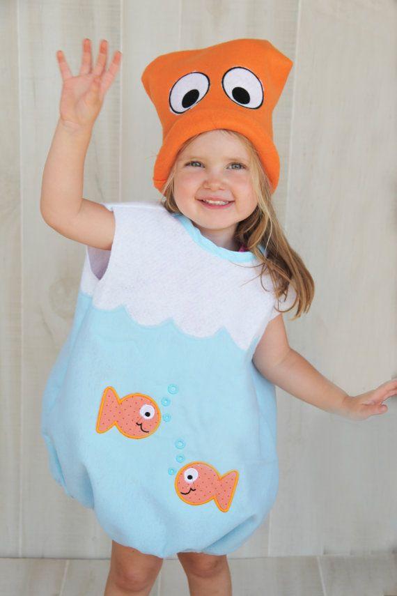 6a96242c2 Fishbowl Costume Goldfish Toddlers by wishesdesignstudio on Etsy, $45.00
