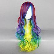 Rock Queen Rainbow Shine 70cm Punk Lolita Wig – GBP £ 26.41
