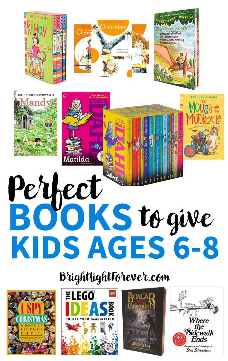 Gift Guide The Best Book Gifts For 6 8 Year Olds Books For Kids