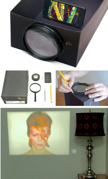 how to make your own projector without a magnifying glass