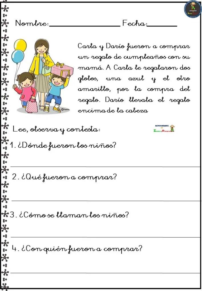 Fichas Comprension Lectora 2 Primaria Pdf Buscar Con Google Comprensión Lectora Lectura De Comprensión Comprension Lectora 2 Primaria