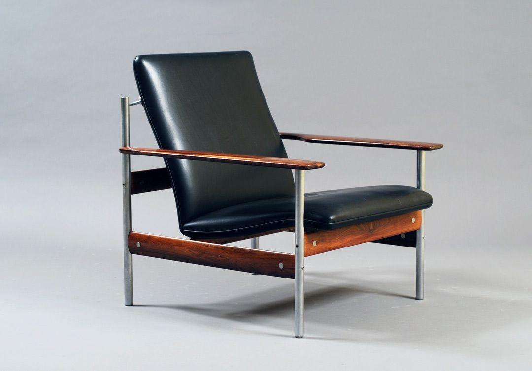 Cool Modell 1001 Af By Sven Ivar Dysthe Palisander And Ox Hide Ibusinesslaw Wood Chair Design Ideas Ibusinesslaworg