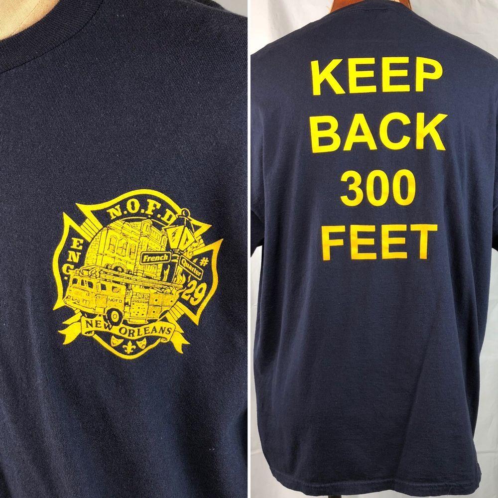 66fc245adfa New Orleans French Quarter Fire Department NOFD Crew T-Shirt XL Mens Engine  29 #Jerzees #FD #NOLA #NOFD #firefighter #frenchquarter #fireman  #ebayROCteam # ...