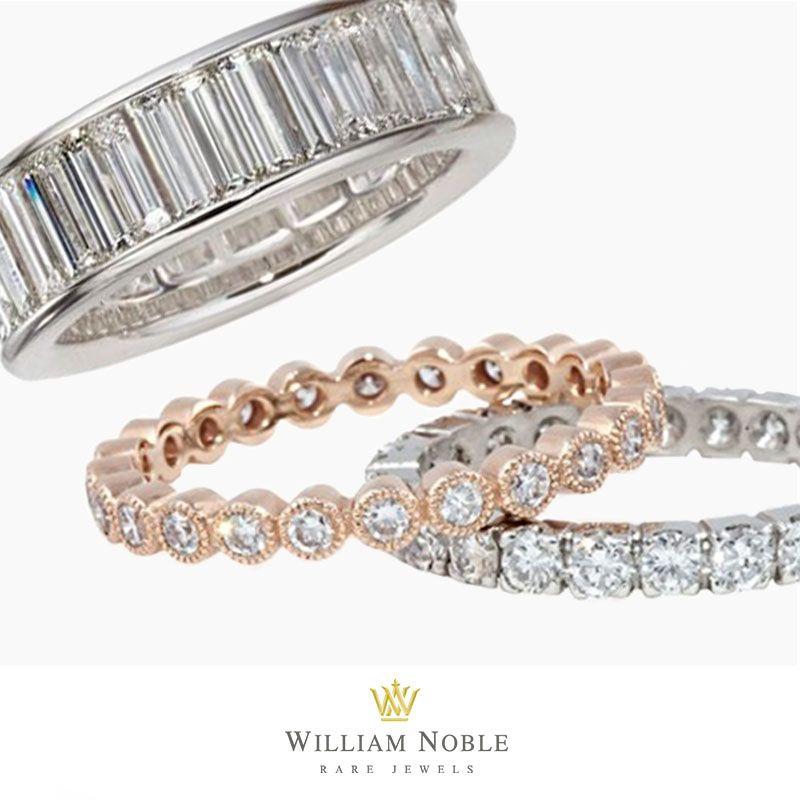 1 26 Audrey Hepburn Inspired Diamond Wedding Bands Engagement