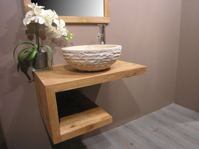 meubles en teck - Recherche Google meuble salle de bain Pinterest - Meuble De Salle De Bain Sans Vasque