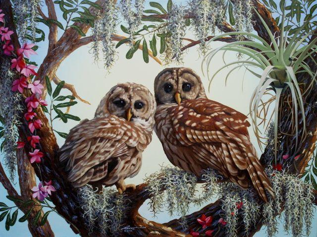 Совы в искусстве. Часть 2 | Картины с совой, Раскраска по ...
