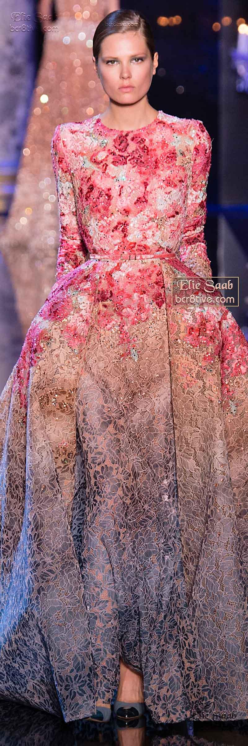 Elie Saab Fall Winter 2014-15 Couture | Boda | Pinterest | Alta ...