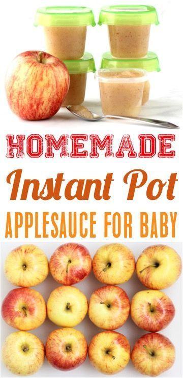 How to Make Homemade Applesauce for Baby! (DIY Thrill) #homemadebabyfood