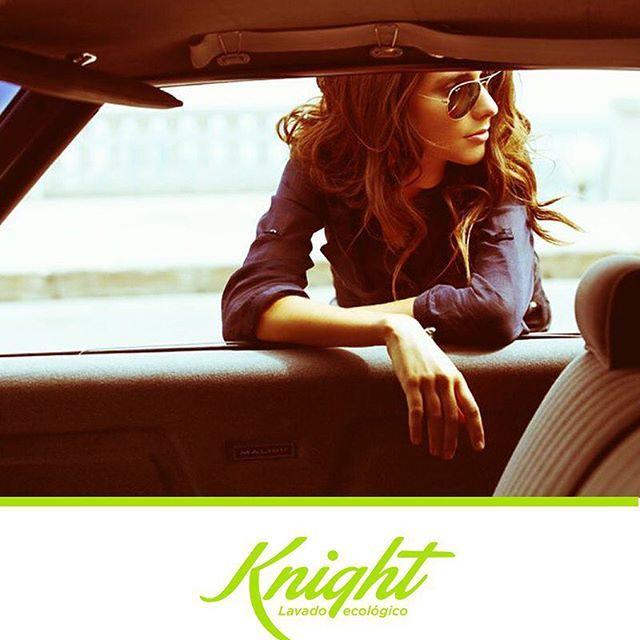 Así como sales feliz cuando vas a la peluquería y te consientes, así mismo te emociona sentarte al volante de tu carro recién lavado ¡Déjalo en nuestras manos! #Knight #LavadoEcológico Imagen vía Pinterest