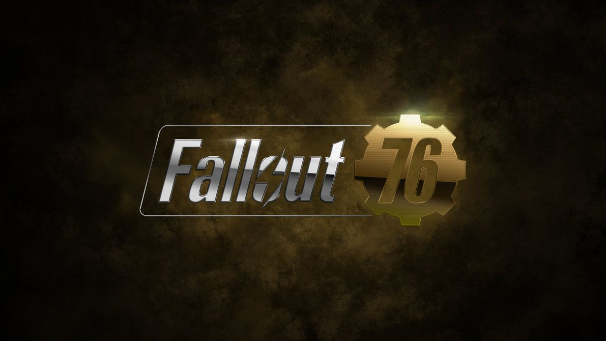 Fallout 76 4k Wallpaper By Valencygraphics Fallout Wallpaper Game Logo Gaming Wallpapers