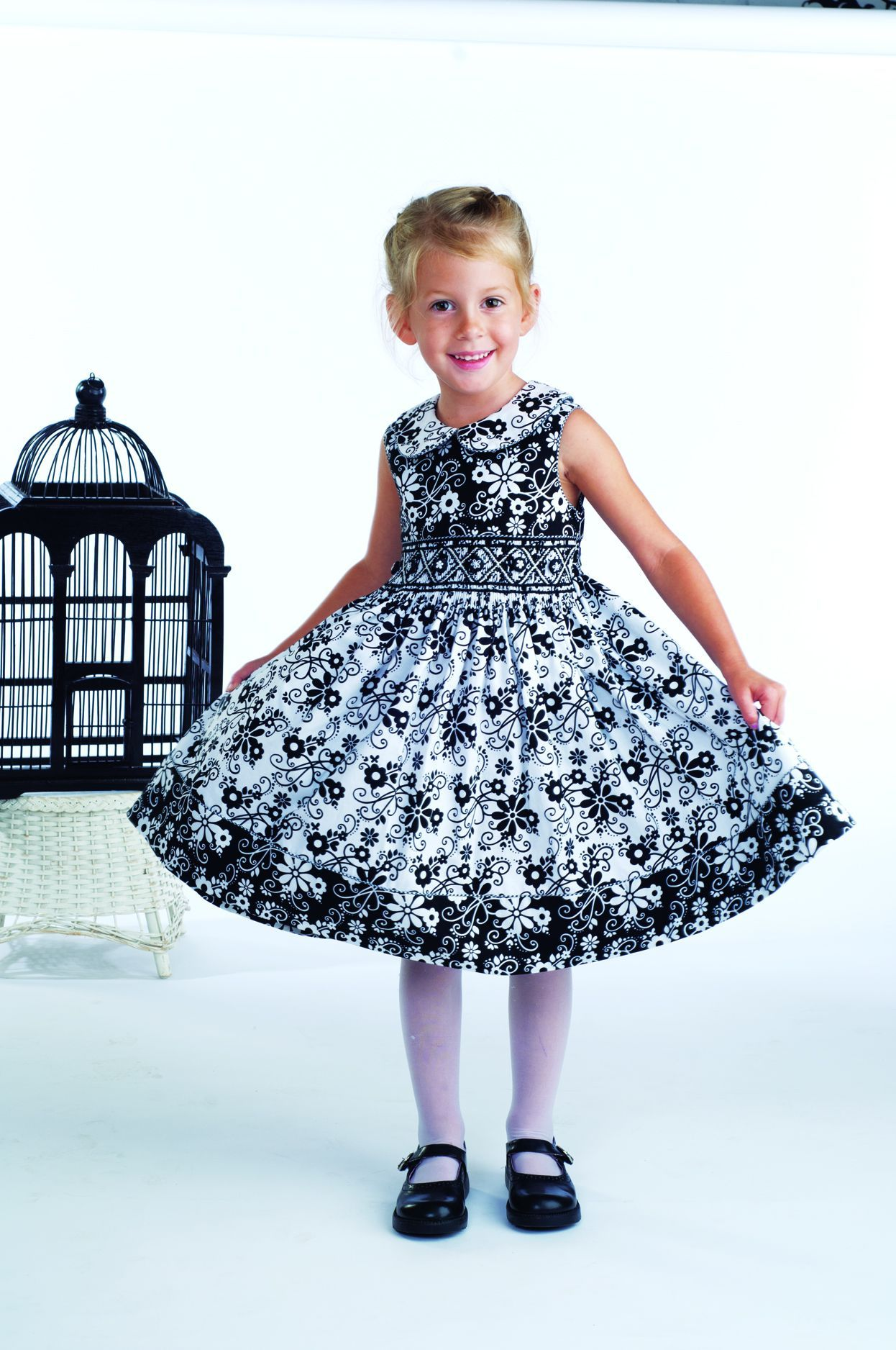 My Bloomin\' Buttons Dress - in the new issue of Sew Beautiful ...