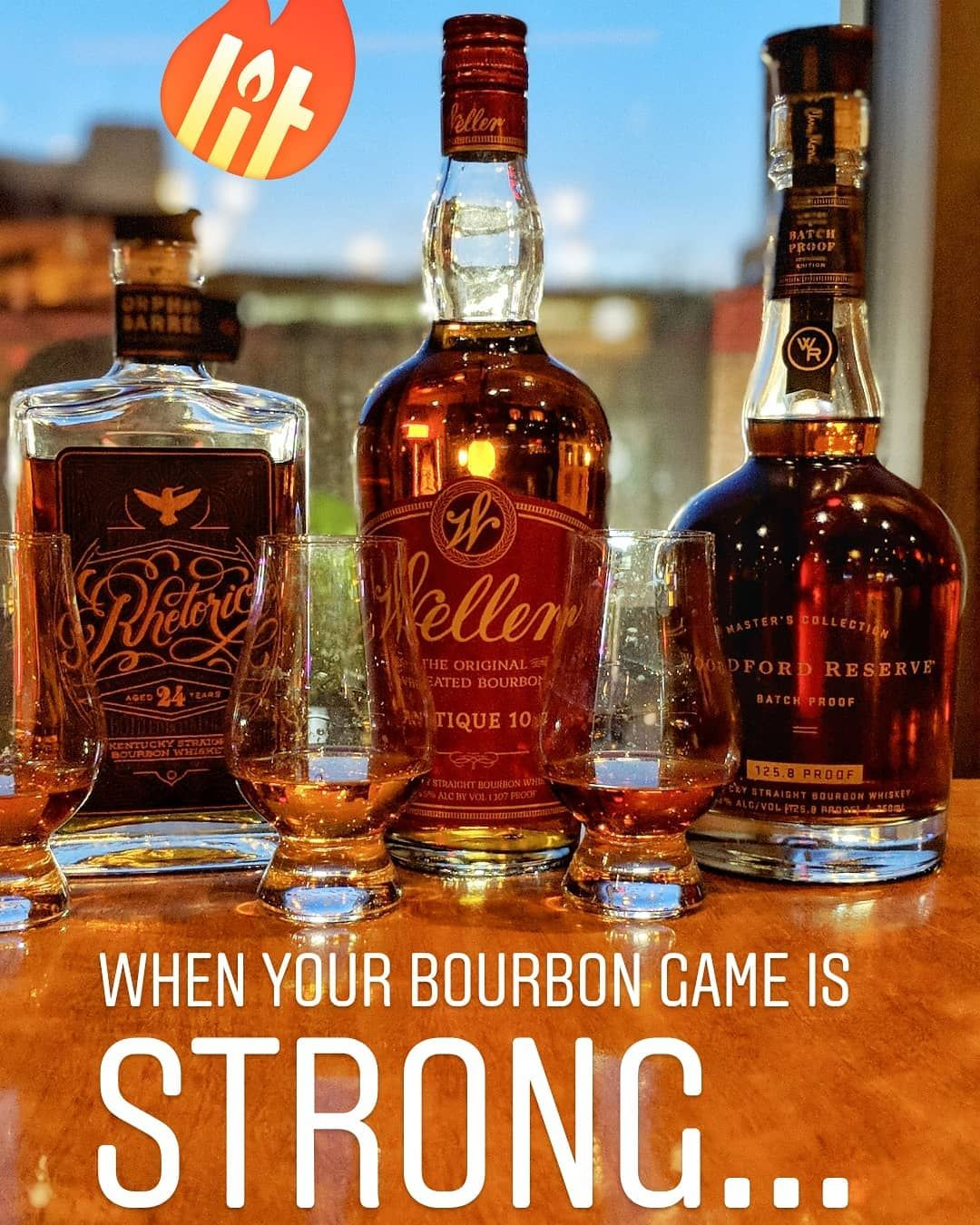 New Bourbons On The Menu We Have Very Limited Quantities Of Each Stop By Before They Re Gone Bourbon Drinks Whiskey Bourbon