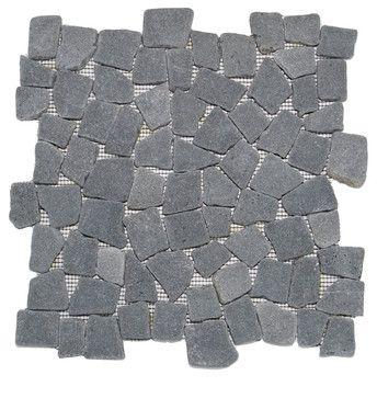Basalt Mosaic Tile modern bathroom tile modern bathrooms