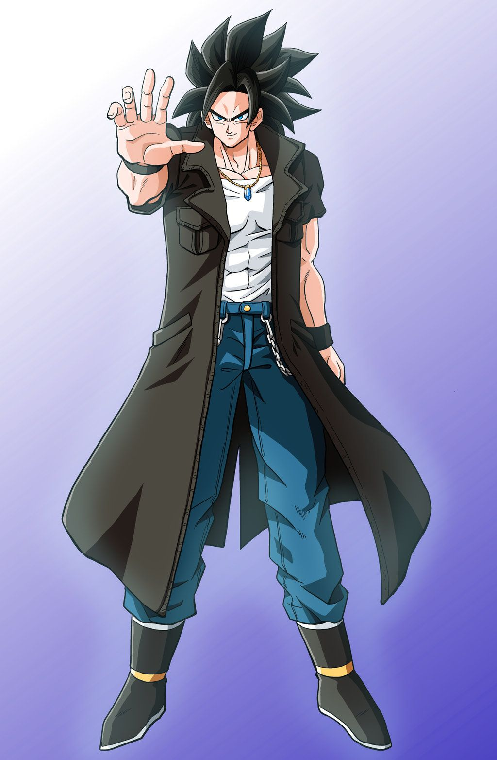 Request Black Jacket Jack by Sasuderuto Dragon ball
