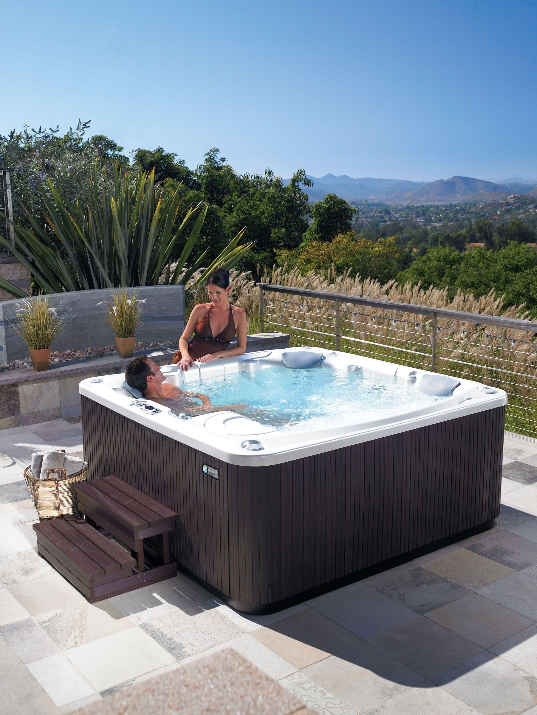 Hot Tub Deck Design Planning Tool Con Imagenes Piscinas Living