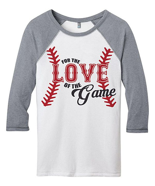 fbe73bdb68561c Baseball 5 Year Old. Look at this Line Liam Gray 'Love of the Game' Raglan  Tee on #zulily today!
